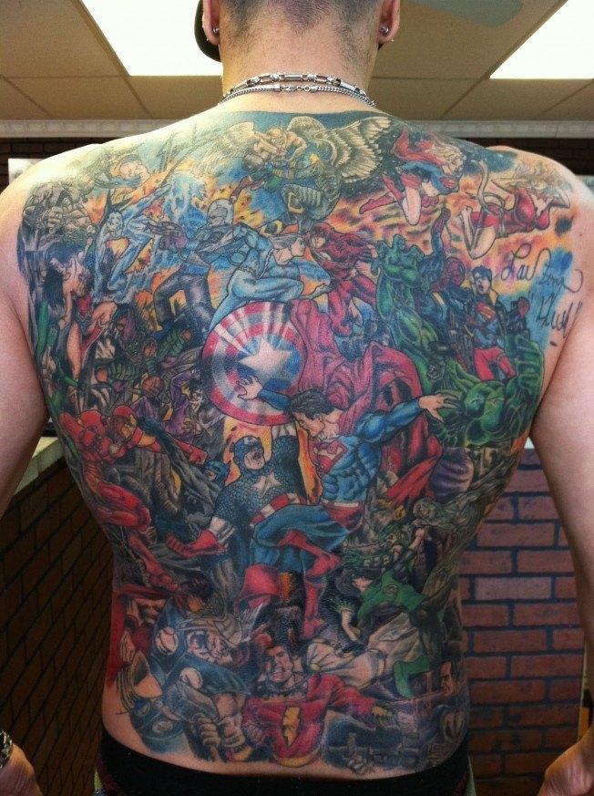 Tatuagens inspiradas em quadrinhos (6)