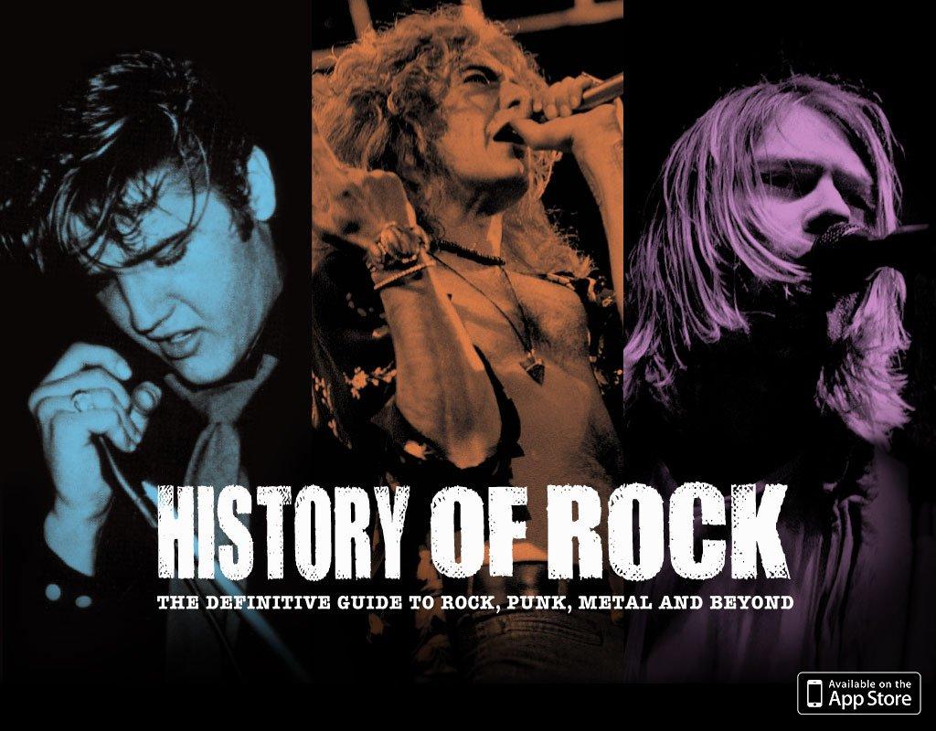 A historia do rock