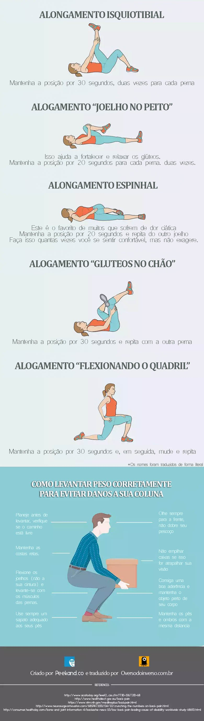 Como aliviar a dor nas costas 2