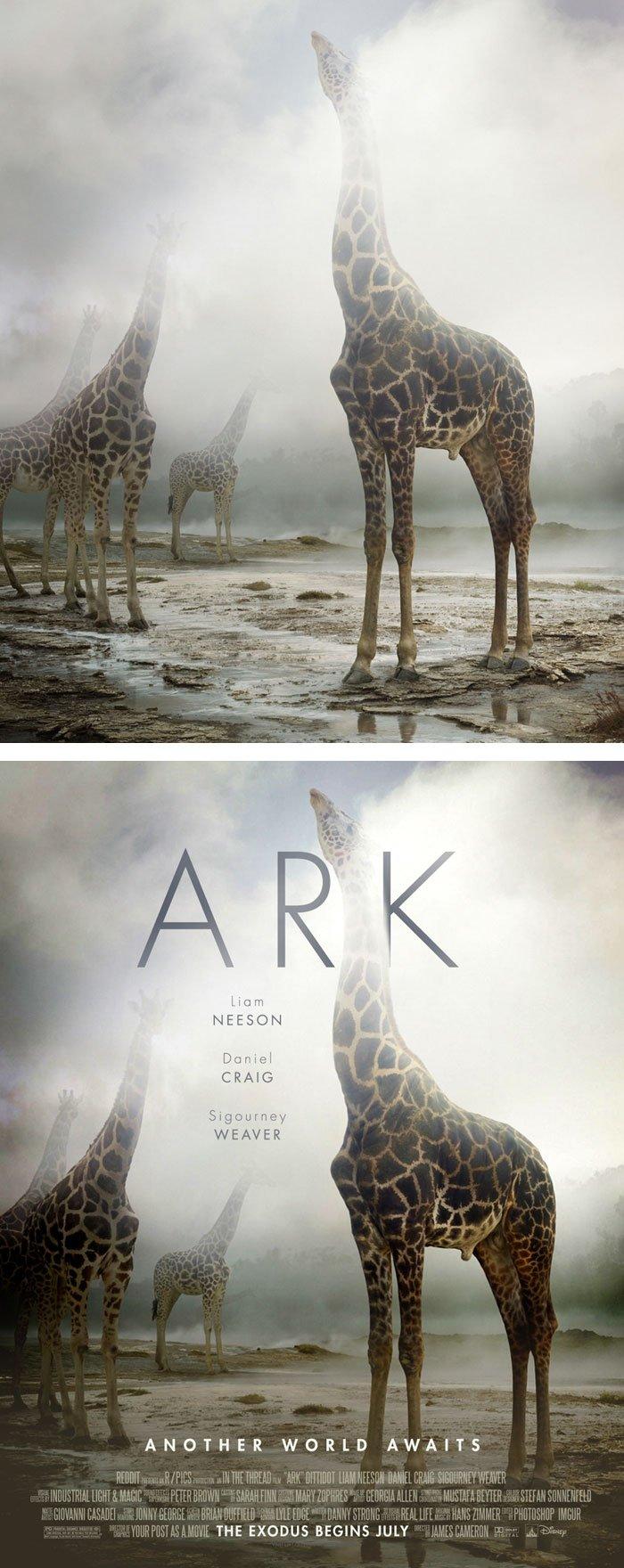 Transformando fotografias em posters de filmes  (11)