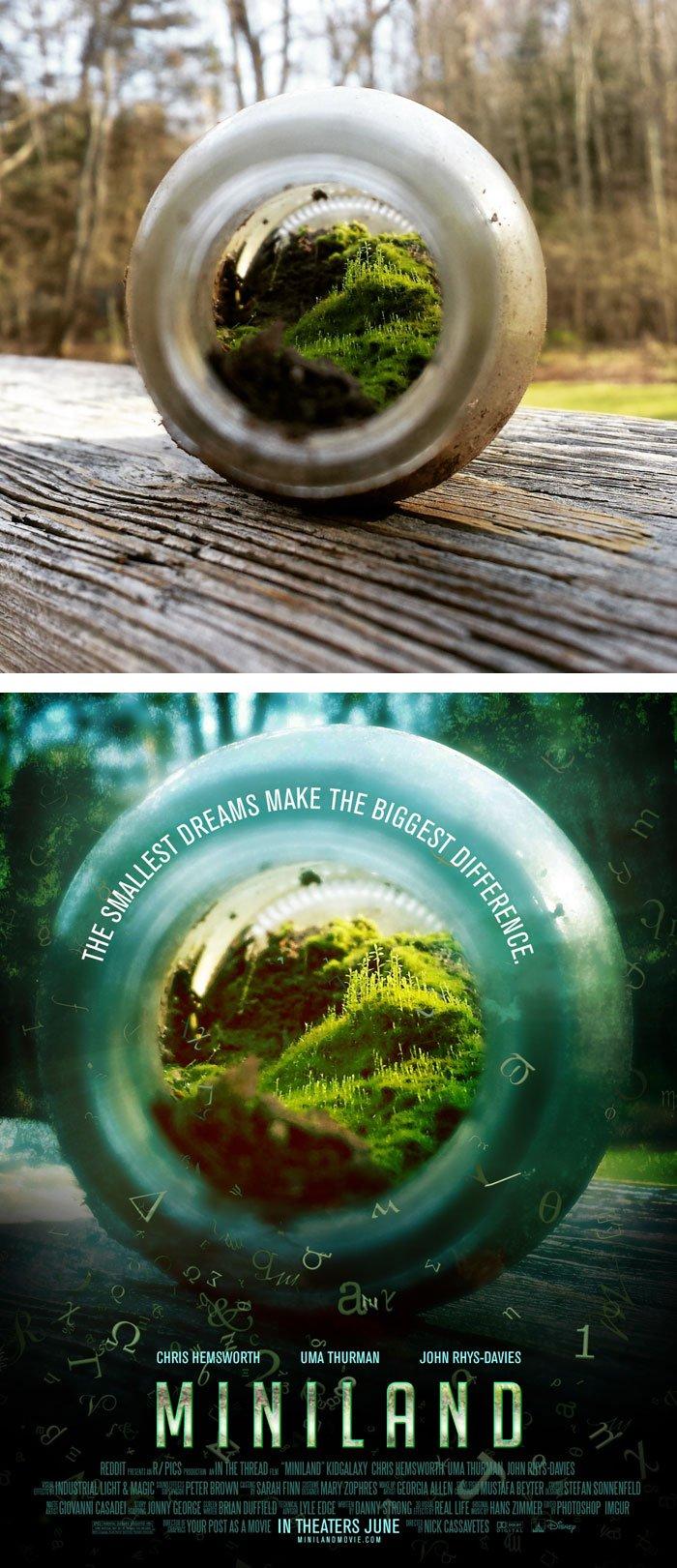 Transformando fotografias em posters de filmes  (3)