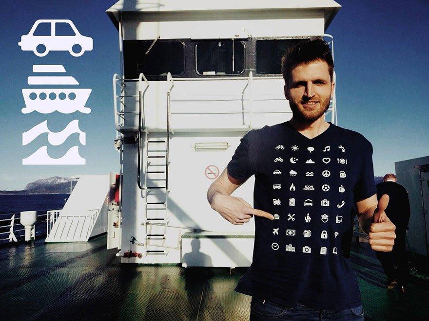 A camiseta que te ajuda a se comunicar em qualquer país