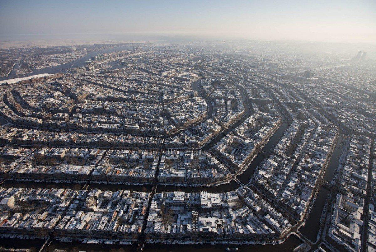 Panoramicas aereas Amsterdam