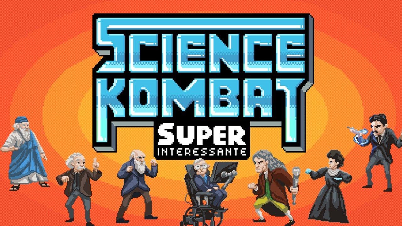 Science Kombat – o jogo de luta com os maiores cientistas da história