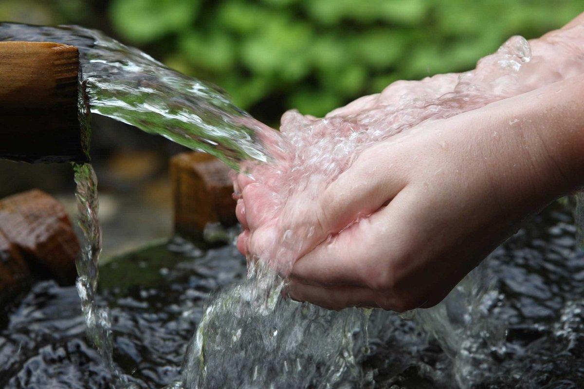 A água é eterna