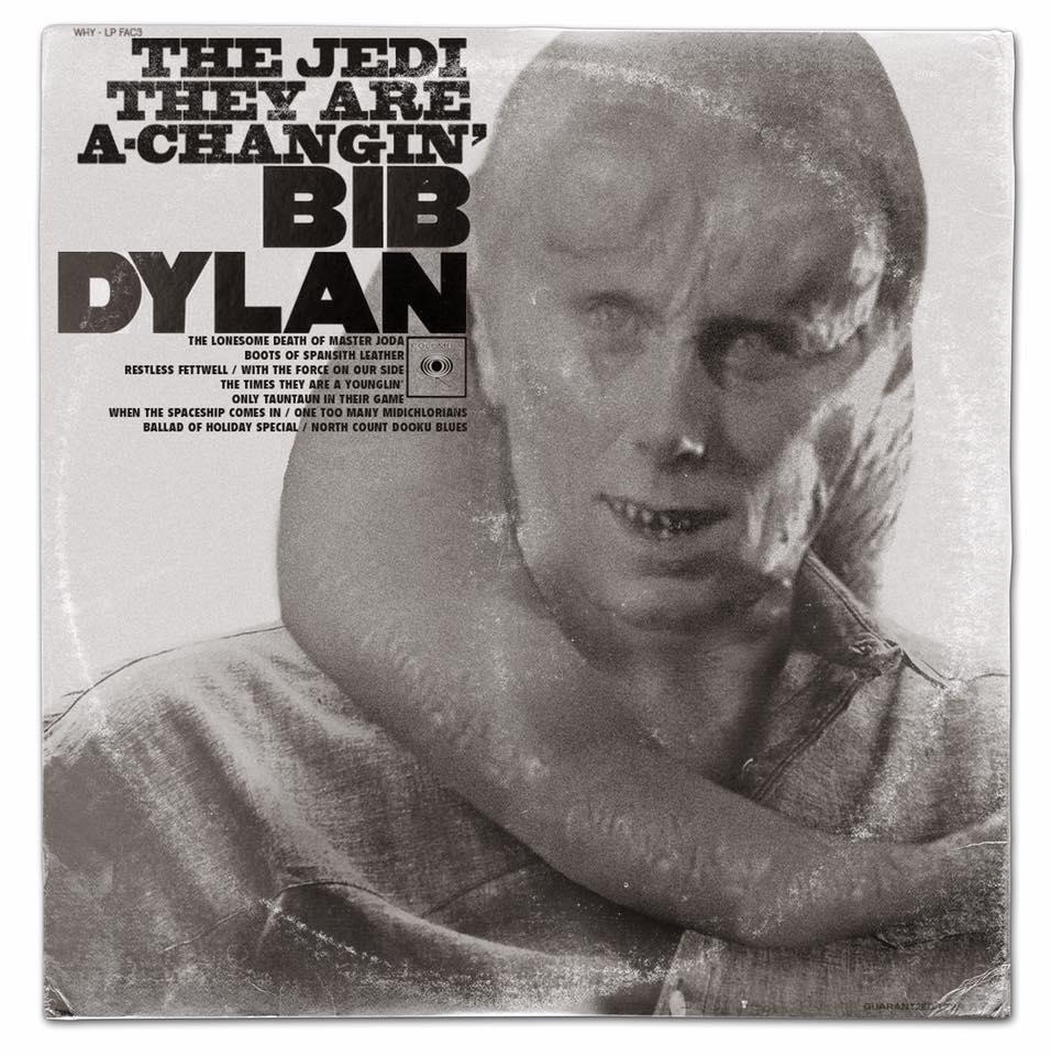 Capas de albuns musicais com personagens de Star Wars (2)