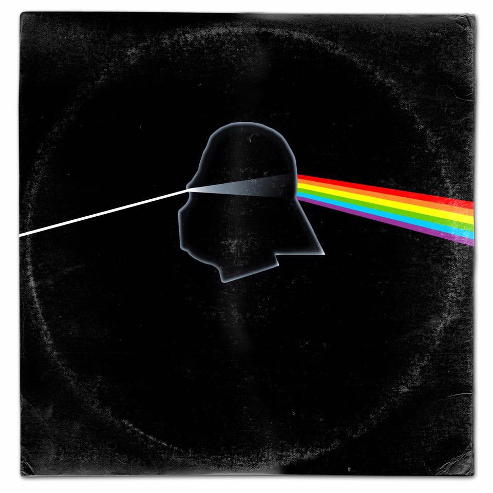 Capas de albuns musicais com personagens de Star Wars (21)