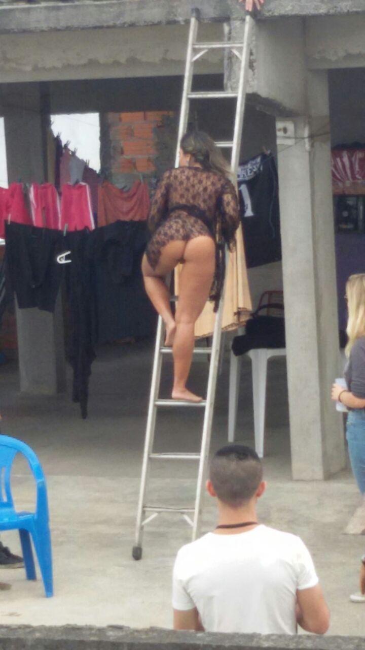 Fotos Mulher Melao na favela Heliopolis - Caiu no WhatsApp Bastidores da Sexy (13)