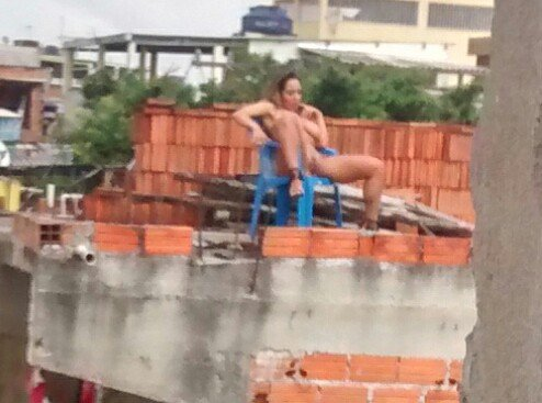 Fotos Mulher Melao na favela Heliopolis - Caiu no WhatsApp Bastidores da Sexy (26)