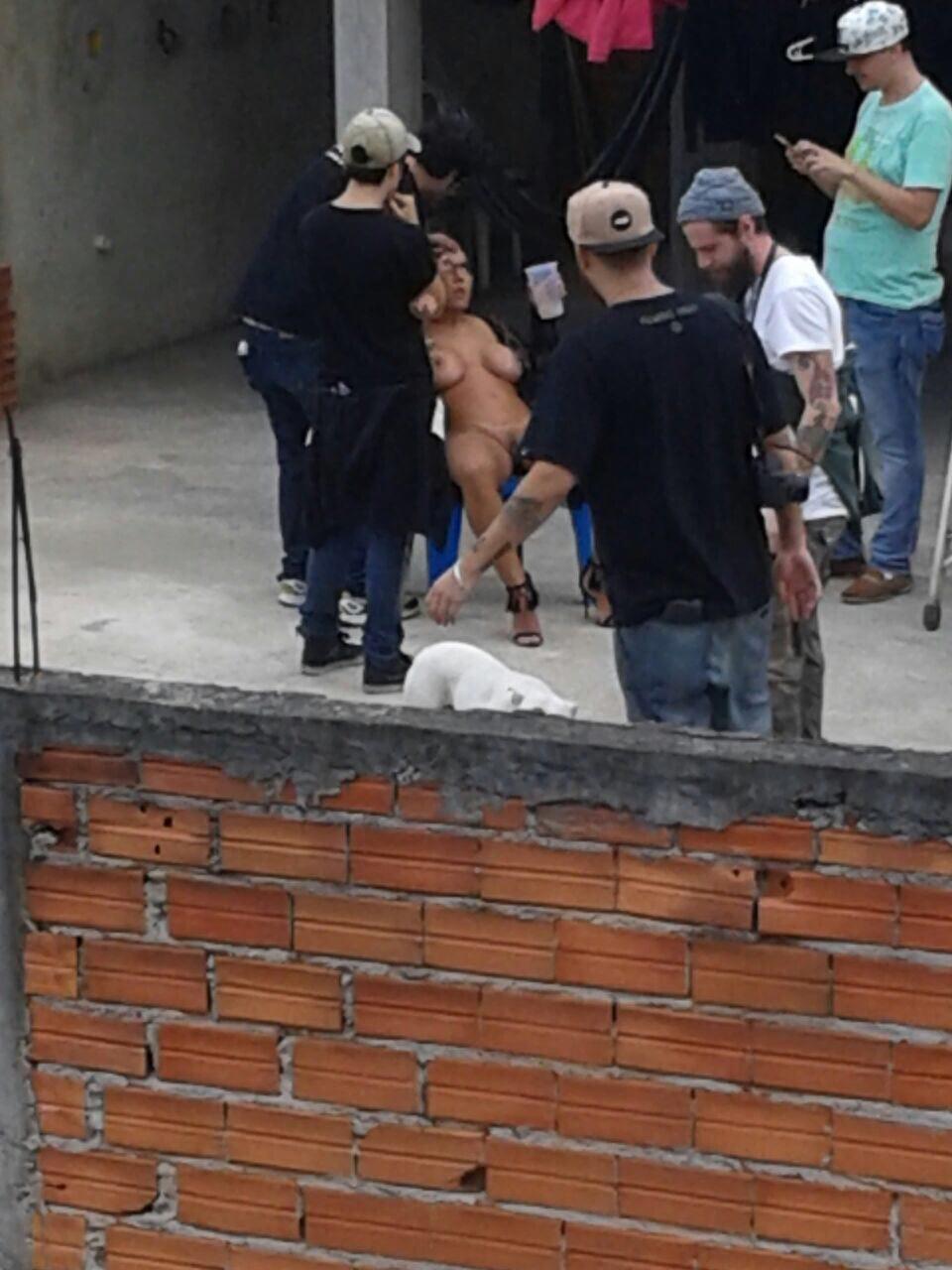 Fotos Mulher Melao na favela Heliopolis - Caiu no WhatsApp Bastidores da Sexy (7)