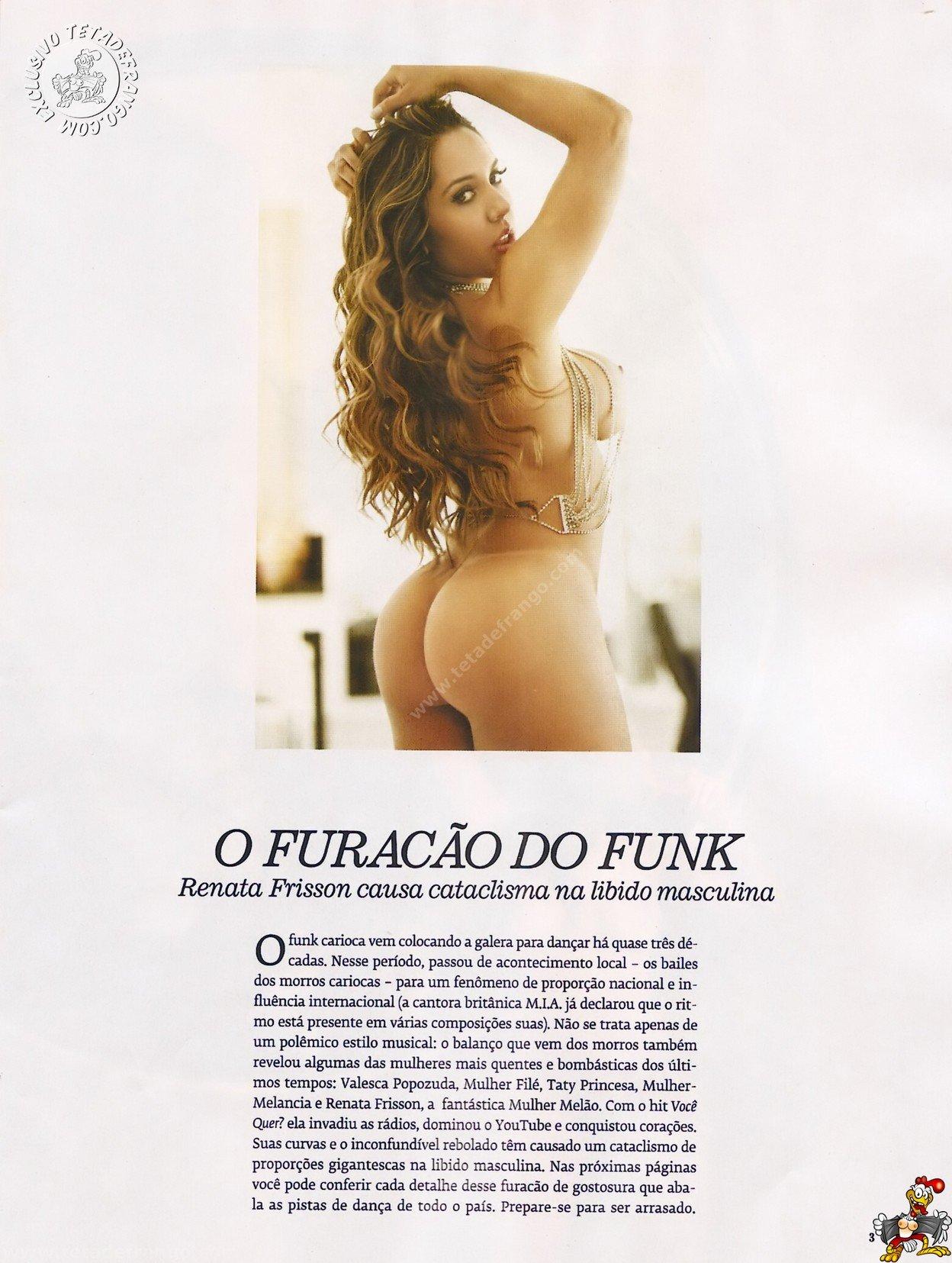 Fotos Playboy Mulher Melão Renata Frisson (2)