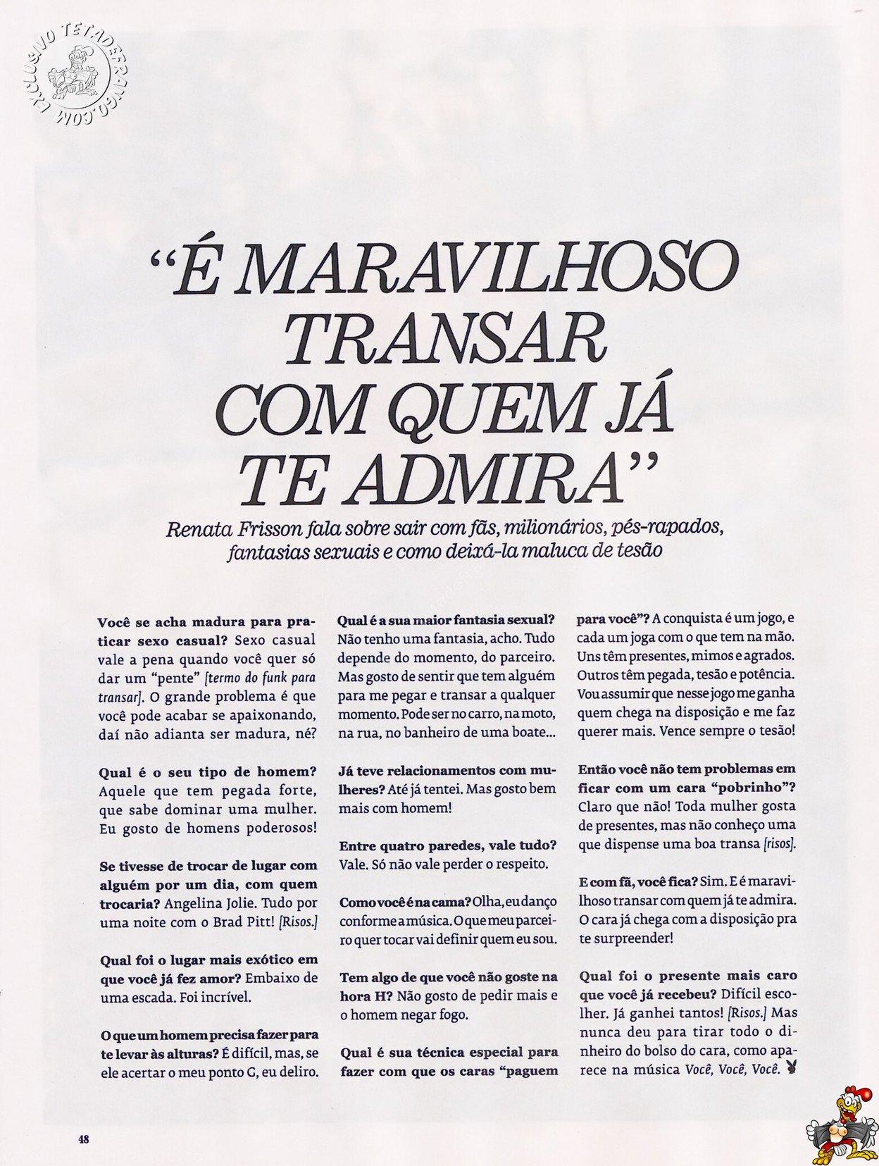 Fotos Playboy Mulher Melão Renata Frisson (47)