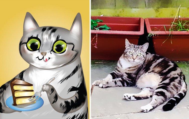 Usando a personalidade de animais de estimacao para criar caricaturas (11)