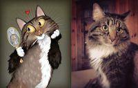 Usando a personalidade de animais de estimação para criar caricaturas