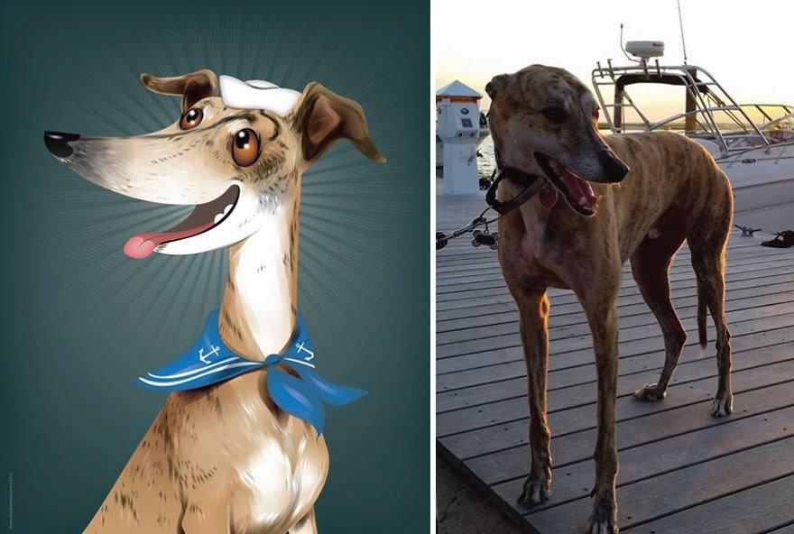 Usando a personalidade de animais de estimacao para criar caricaturas (2)