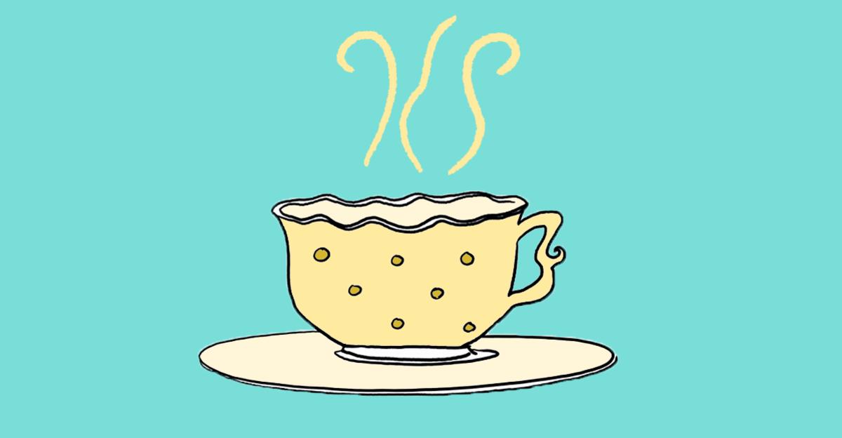 Usando a metáfora da xícara de chá para explicar sobre abuso sexual