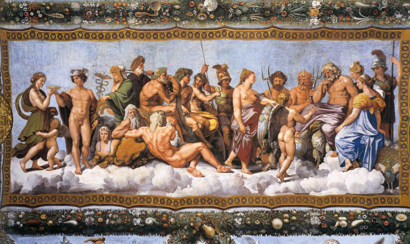 A Arvore Genealógica dos Deuses Gregos