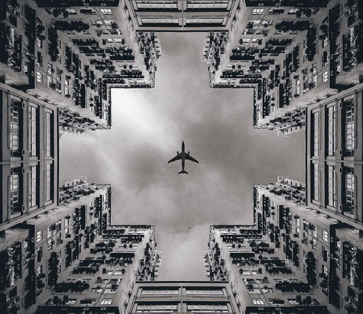 A beleza das fotos simetricas