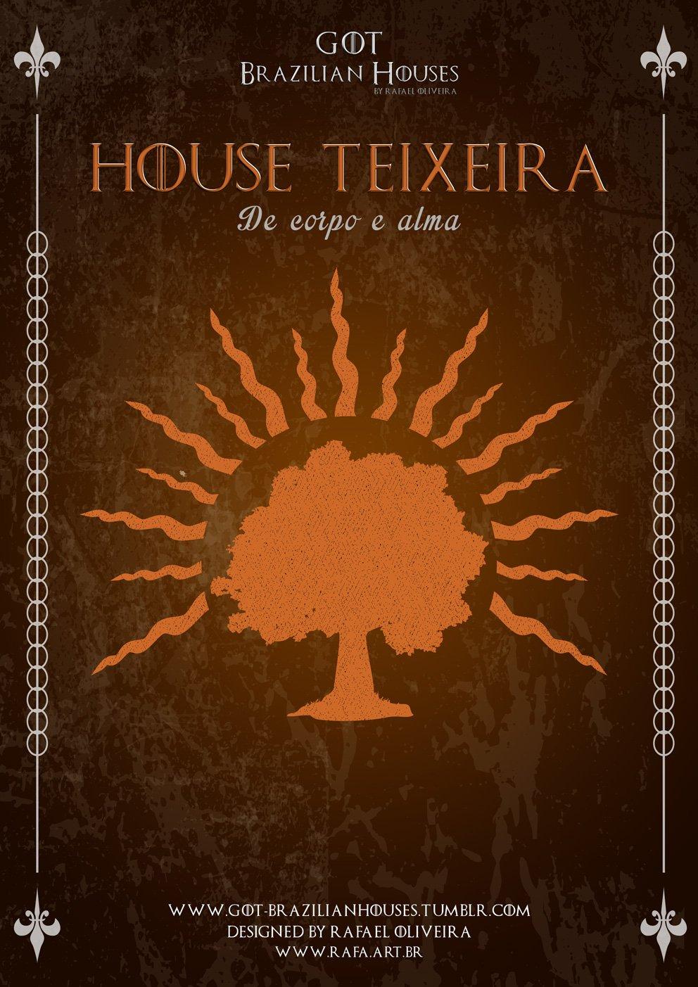 Como seriam as casas de Game of Thrones se elas tivessem sobrenomes Brasileiros (10)