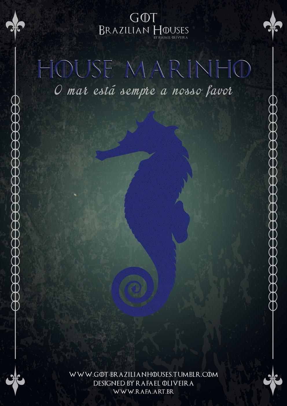 Como seriam as casas de Game of Thrones se elas tivessem sobrenomes Brasileiros (11)