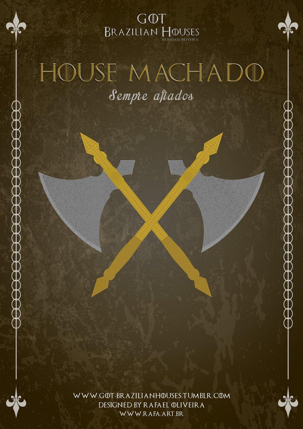 Como seriam as casas de Game of Thrones se elas tivessem sobrenomes Brasileiros (12)
