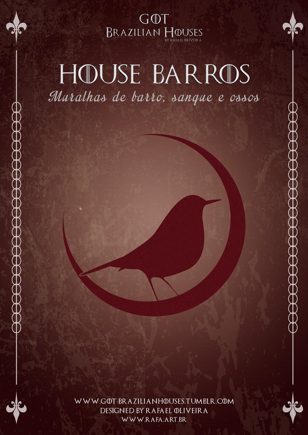 Como seriam as casas de Game of Thrones se elas tivessem sobrenomes Brasileiros (16)