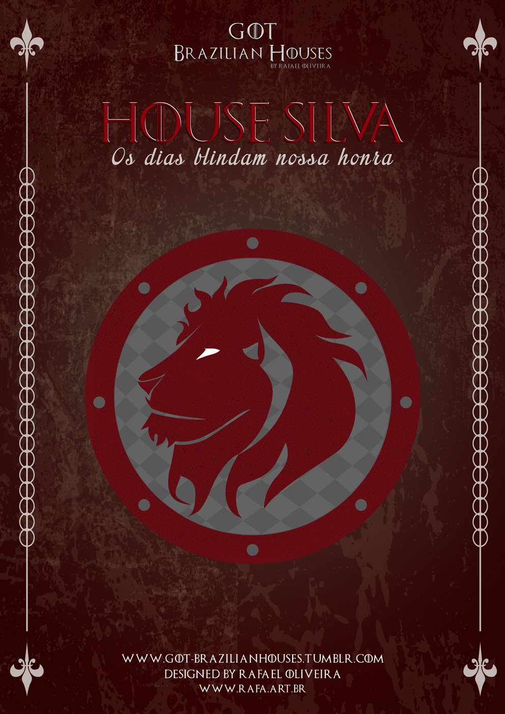 Como seriam as casas de Game of Thrones se elas tivessem sobrenomes Brasileiros (5)