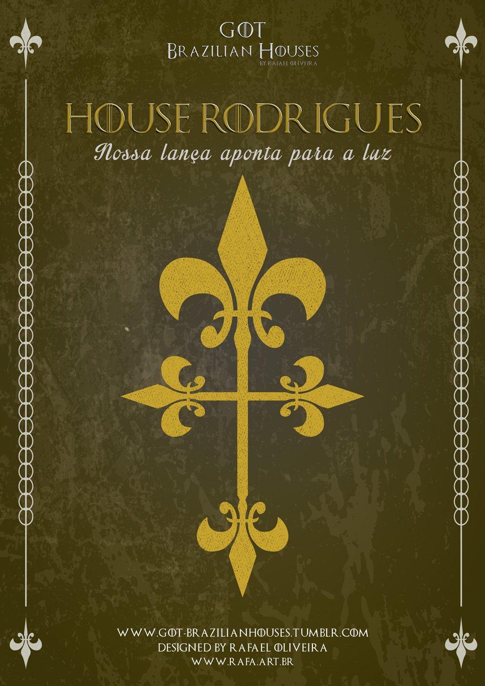 Como seriam as casas de Game of Thrones se elas tivessem sobrenomes Brasileiros (6)