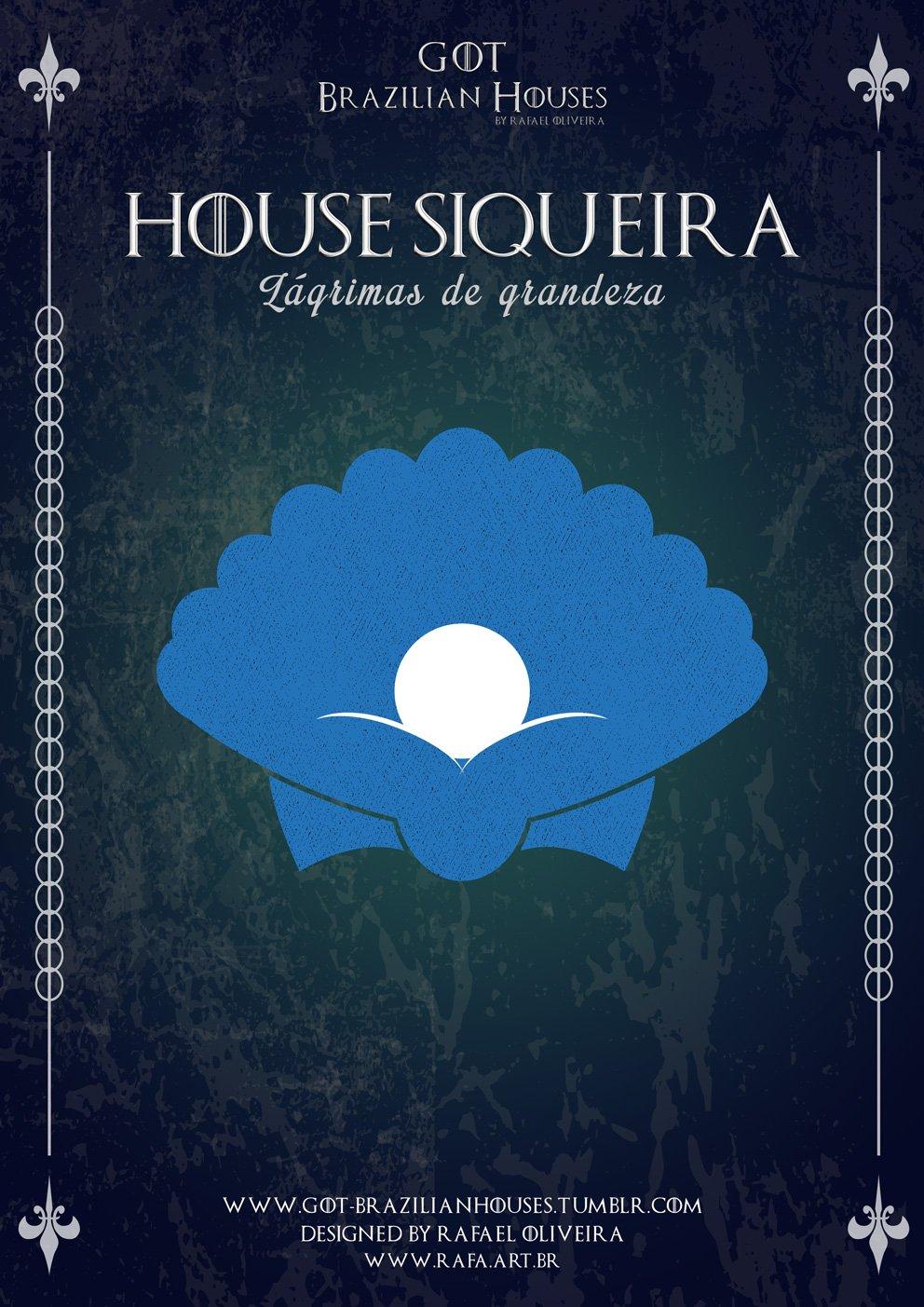 Como seriam as casas de Game of Thrones se elas tivessem sobrenomes Brasileiros (7)