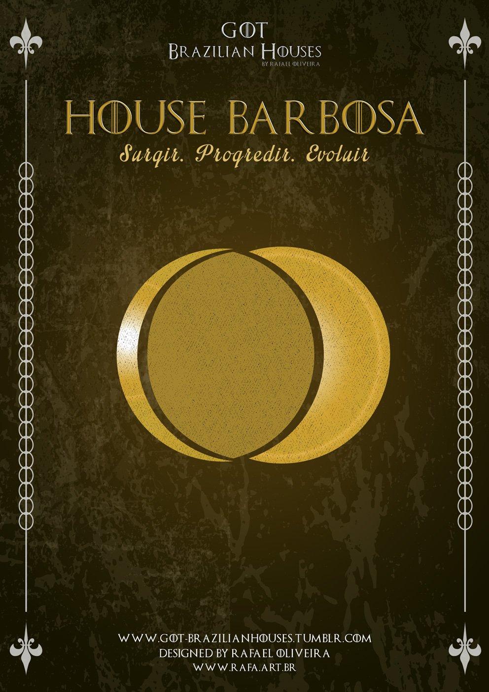 Como seriam as casas de Game of Thrones se elas tivessem sobrenomes Brasileiros (9)