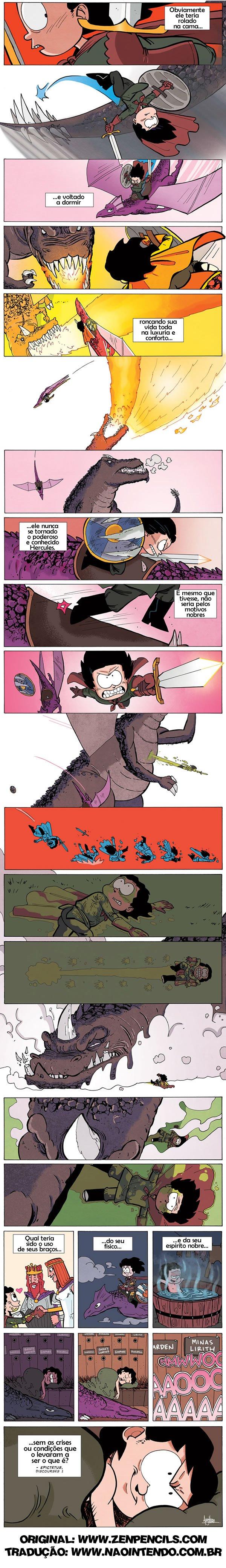 O que seriam dos herois se nao houvessem os obstaculos
