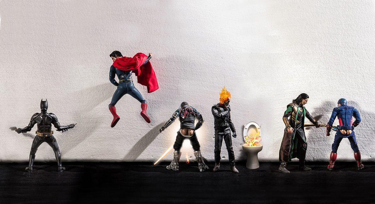 A vida secreta dos super-herois (2)