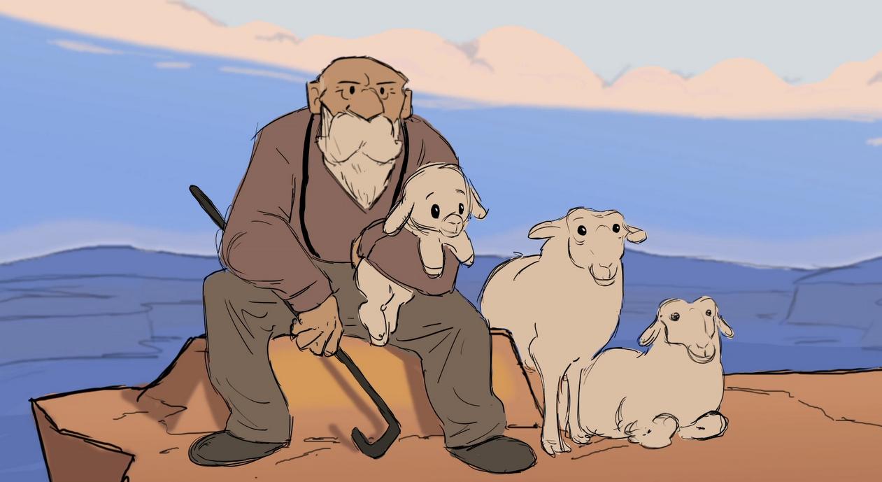 [Curta Animado] Eyrie: O segredo do pastor de ovelhas