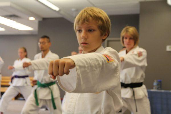 criancas karate