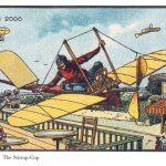 100 anos atras artistas foram convidados para ilustrar como seria os anos 2000 24