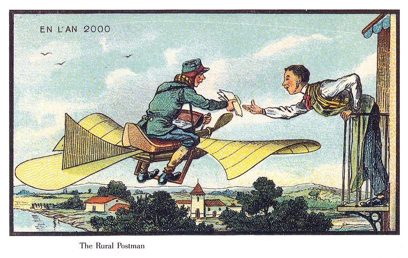 100-anos-atras-artistas-foram-convidados-para-ilustrar-como-seria-os-anos-2000-3