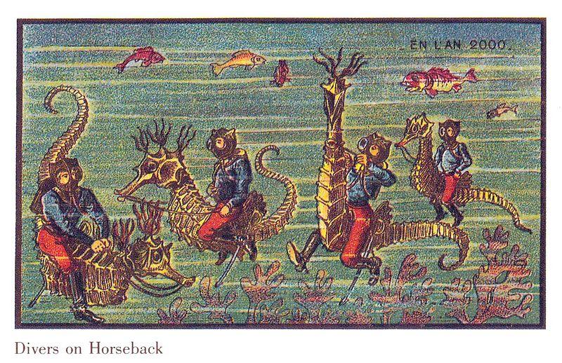 100-anos-atras-artistas-foram-convidados-para-ilustrar-como-seria-os-anos-2000-5