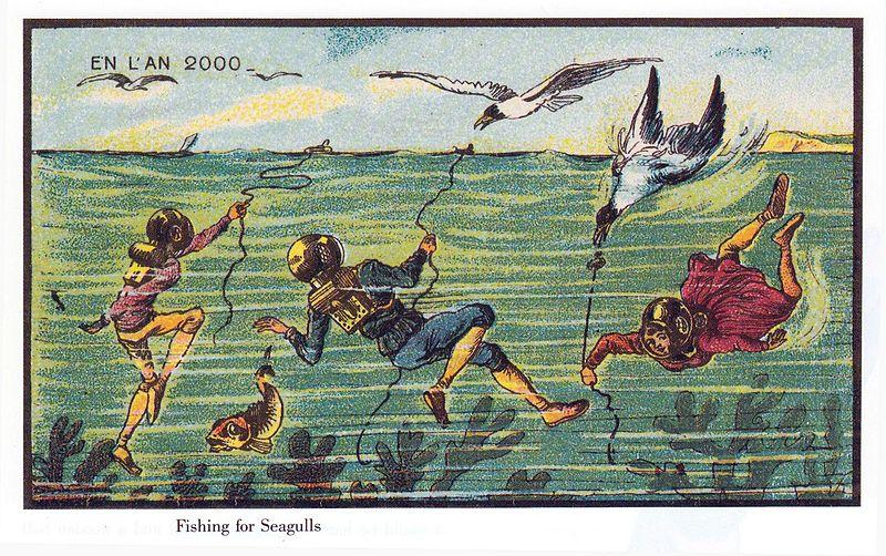 100-anos-atras-artistas-foram-convidados-para-ilustrar-como-seria-os-anos-2000-7