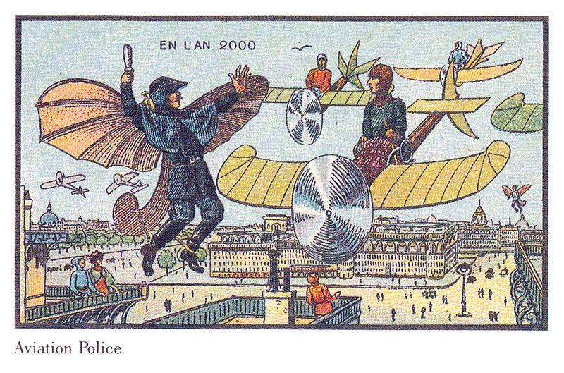 100-anos-atras-artistas-foram-convidados-para-ilustrar-como-seria-os-anos-2000-8