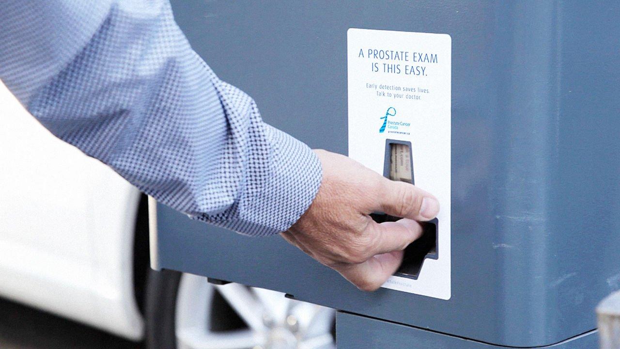 O que um parquímetro de estacionamento e um exame de próstata tem em comum?