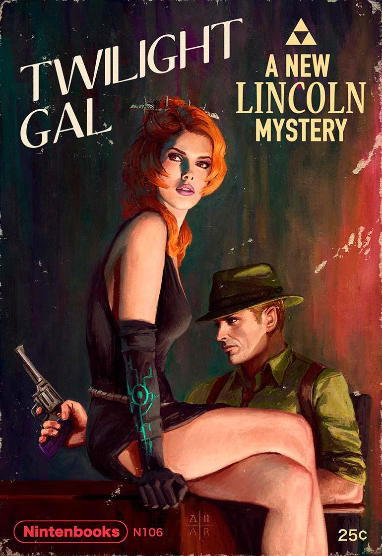 artista-transforma-jogos-da-nintendo-em-capas-de-revista-pulp-fiction-5