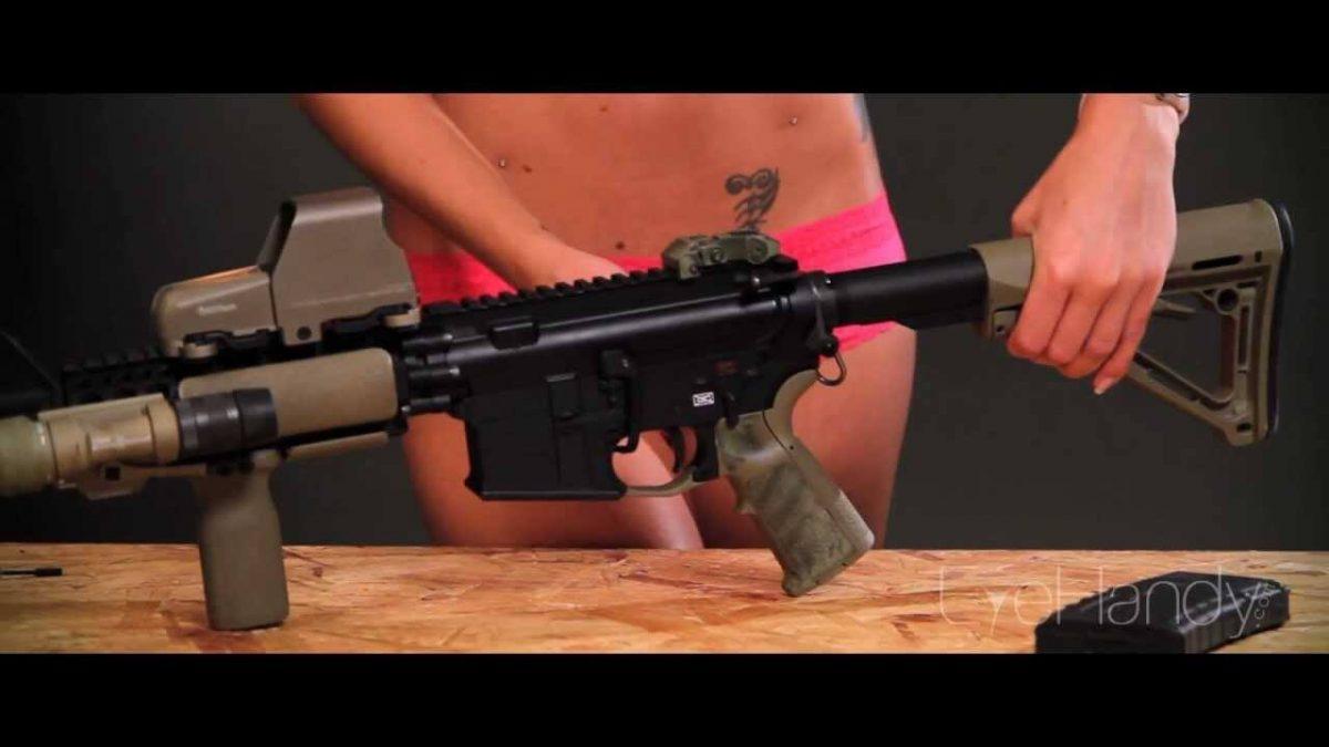 Como limpar um Rifle AR 15 3