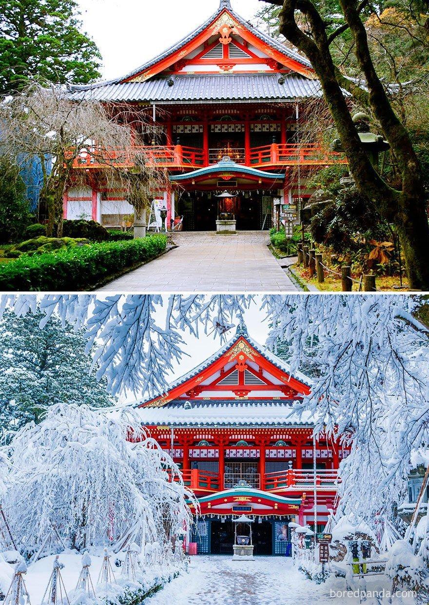 A beleza do inverno