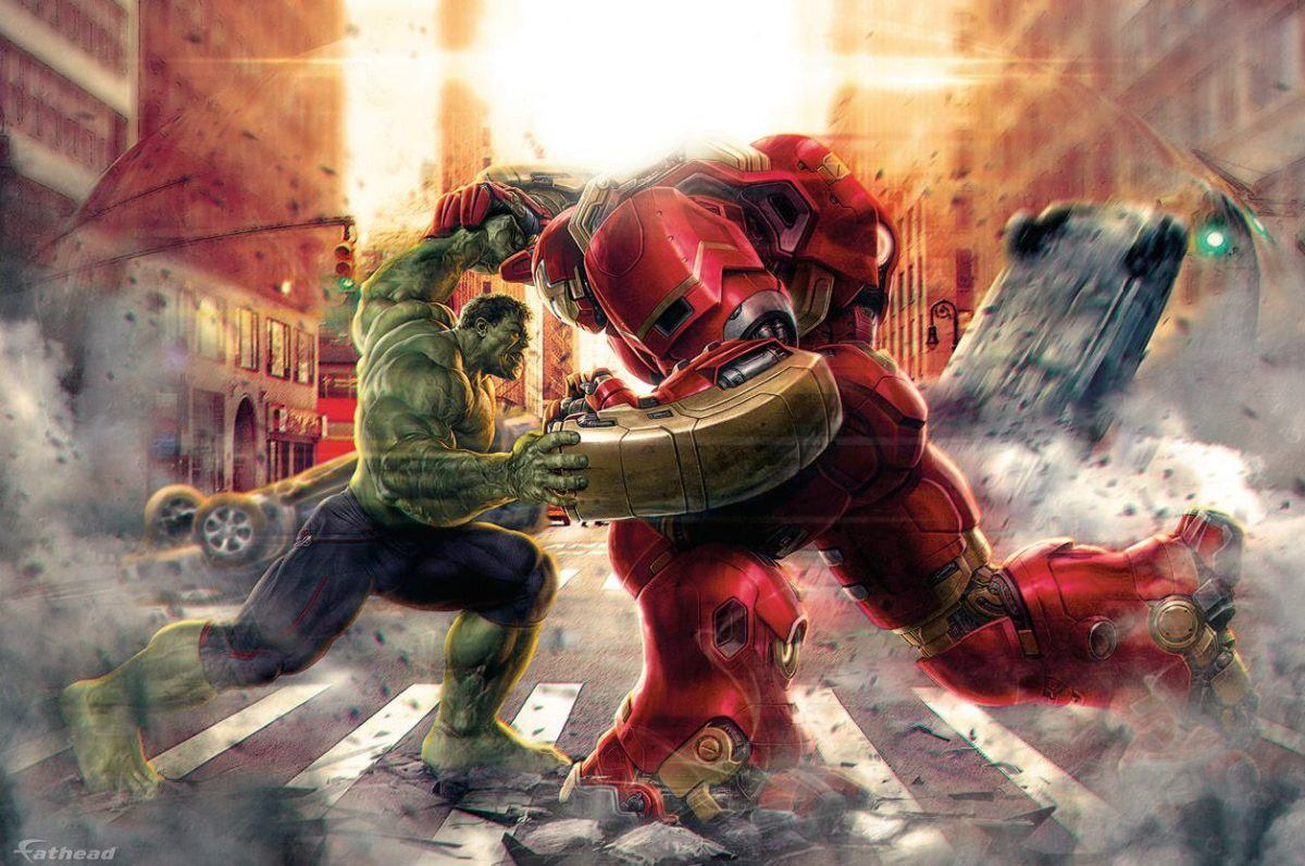 Hulk Vs Homem de Ferro Hulkbuster