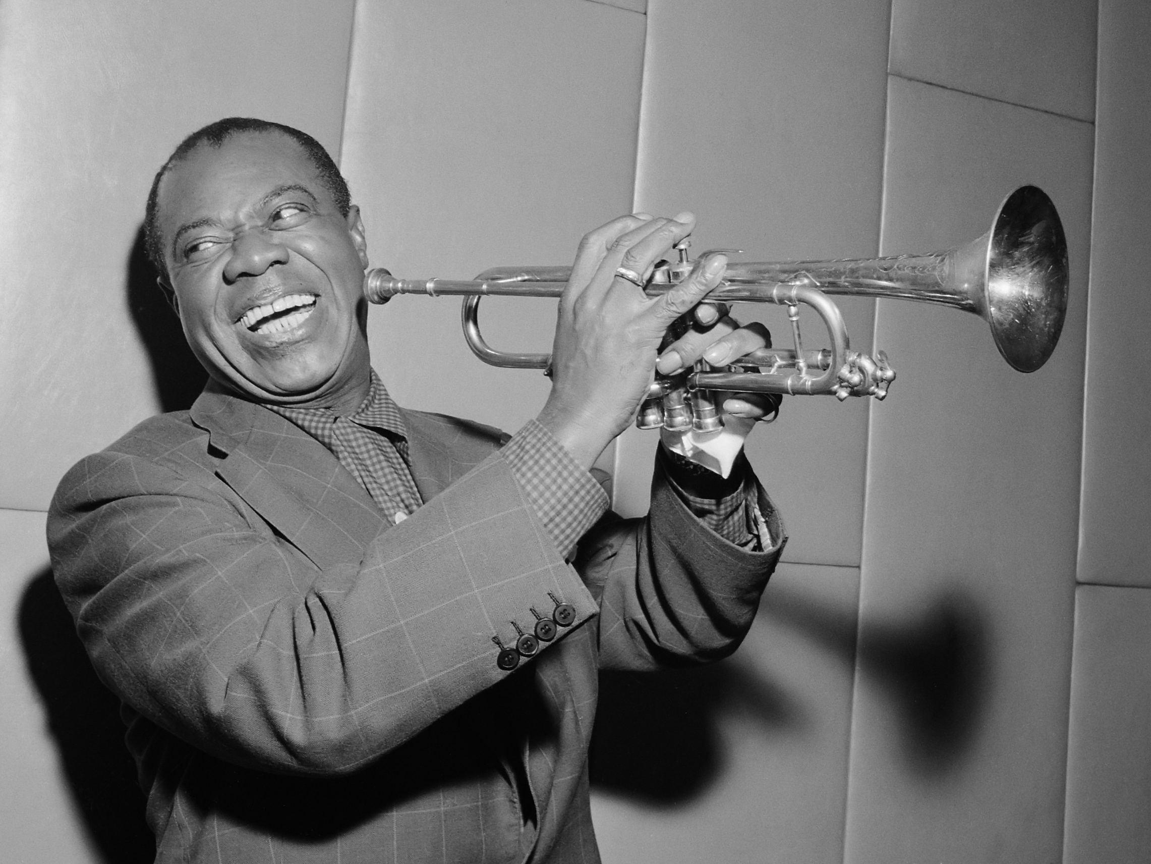 Louis Armstrong bezoekt Amsterdam *29 oktober 1955