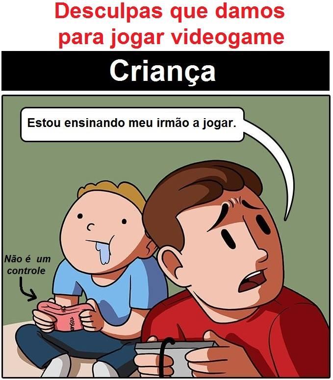 As desculpas que damos para jogar video-game (1)