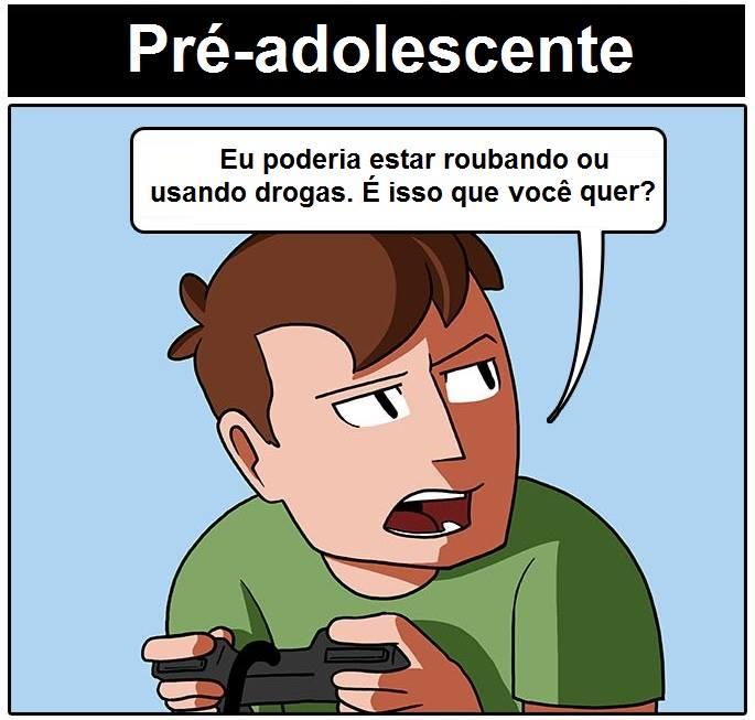 As desculpas que damos para jogar video-game (2)
