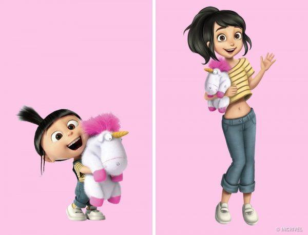 Como seriam os personagens de desenhos animados se fossem mais velhos (2)