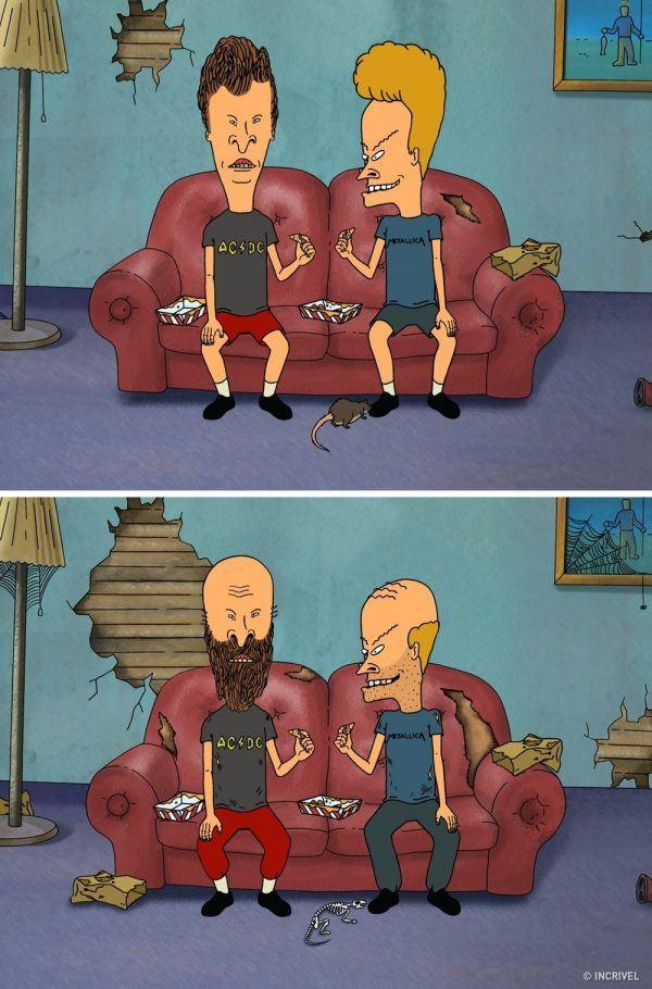 Como seriam os personagens de desenhos animados se fossem mais velhos (5)