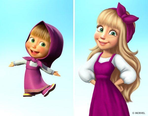 Como seriam os personagens de desenhos animados se fossem mais velhos (8)